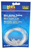 "Lees Mini Airline Tubing with 4 Connectors 6' Long Tube (.09"" Diameter Tubing) - All Pets Store"