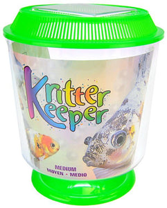 "Lees Round Kritter Keeper Medium - 7.25"" Diameter x 8.5"" High - All Pets Store"