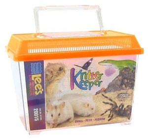 "Lees Kritter Keeper with Lid Small - 9.13""L x 6""W x 6.63""H - All Pets Store"