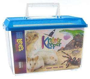 "Lees Kritter Keeper with Lid Medium - 11.75""L x 6.75""W x 8""H - All Pets Store"