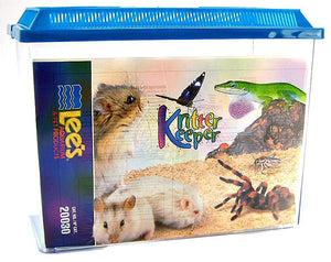 "Lees Kritter Keeper with Lid X-Large - 15.87""L x 8.37""W x 12.08""H - All Pets Store"
