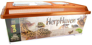 "Lees HerpHaven Breeder Box - Plastic Large - 17.75""L x 12""W x 7""H - All Pets Store"
