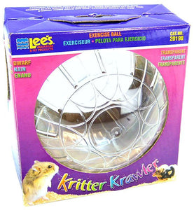 "Lees Kritter Krawler - Clear Mini - 3"" Diameter - All Pets Store"