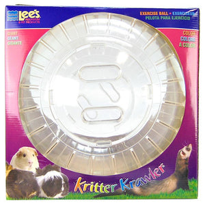"Lees Kritter Krawler - Clear Giant - 12.5"" Diameter - All Pets Store"