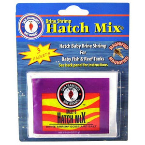 SF Bay Brands Brine Shrimp Hatch Kit .61 oz each (3 Pack) - All Pets Store