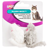 "Spot Smooth Fur Mice 2"" Long (2 Pack) - All Pets Store"