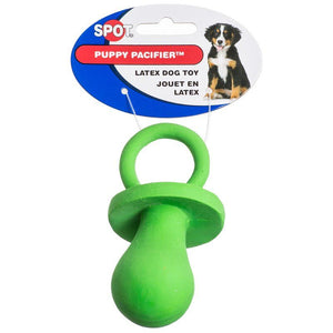 "Spot Spotbites Latex Puppy Pacifier 4"" Long - All Pets Store"