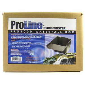 "Pondmaster Pro Series Pond Biological Filter & Waterfall Pro 1000 - (12""L x 9""W x 8""H) - All Pets Store"