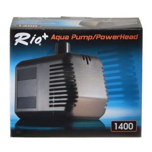 Rio Plus Aqua Pump/PowerHead 1400 (420 GPH - 6.5' Max Head) - All Pets Store