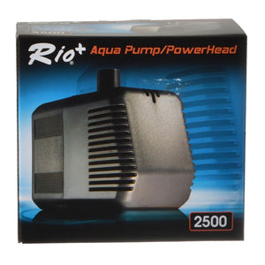 Rio Plus Aqua Pump/PowerHead 2500 (748 GPH - 10' Max Head) - All Pets Store