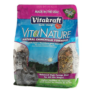 VitaKraft VitaNature Chinchilla Food - Natural Chinchilla Formula 2.75 lbs - All Pets Store