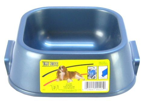 Van Ness Light Food or Water Dish Small - 16 oz