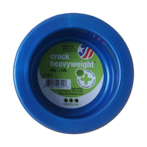 "Van Ness Crock Heavyweight Dish Mini - 3-5/8"" Diameter (4 oz) - All Pets Store"