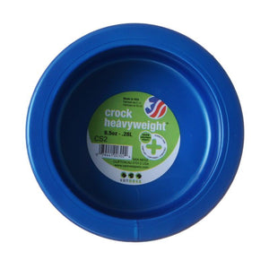 "Van Ness Crock Heavyweight Dish Small - 4-5/8"" Diameter (9.5 oz) - All Pets Store"