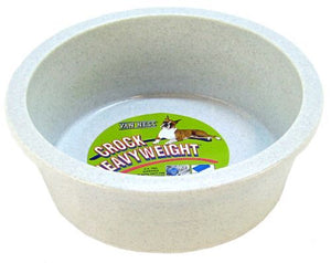 "Van Ness Crock Heavyweight Dish Large - 8.5"" Diameter (52 oz) - All Pets Store"