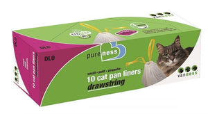 Van Ness Drawstring Cat Pan Liners Small (10 Pack) - All Pets Store