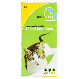Van Ness Cat Pan Liners Large (12 Pack) - All Pets Store