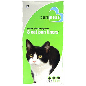 Van Ness Cat Pan Liners Giant (8 Pack) - All Pets Store