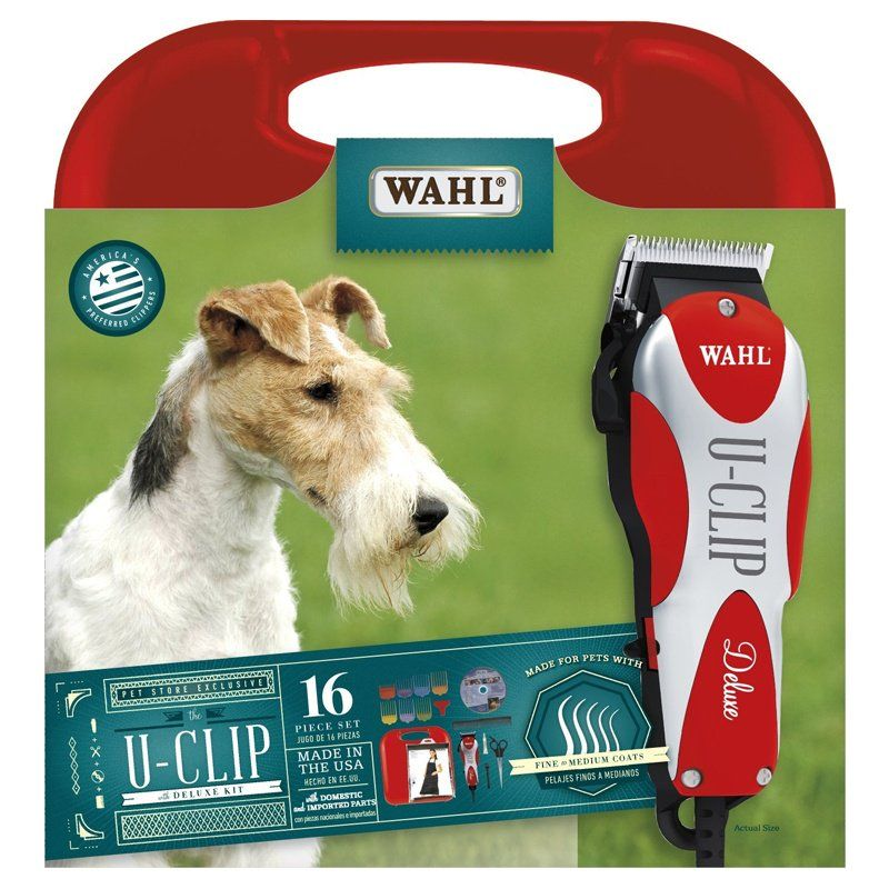 Wahl Delux-U-Clip Home Grooming Clipper Kit with DVD Delux-U-Clip Kit