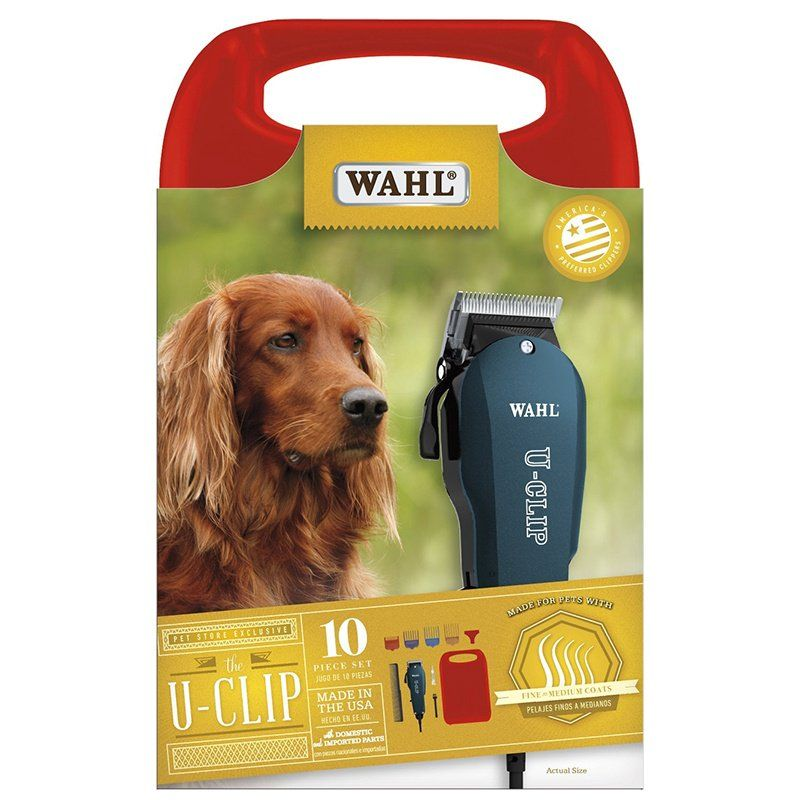 Wahl Basic U-Clip Home Grooming Clipper Kit Basic U-Clip Kit