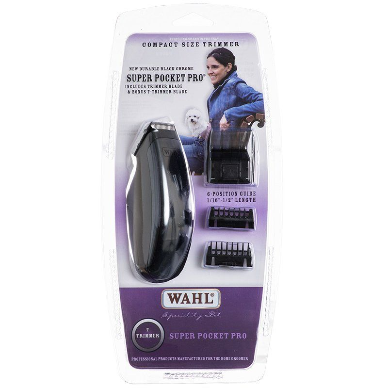 Wahl Super Pocket Pro Pet Trimmer - Battery Powered Super Pocket Pro Trimmer