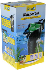 Tetra Whisper Internal Power Filter 10i (10 Gallons) - All Pets Store