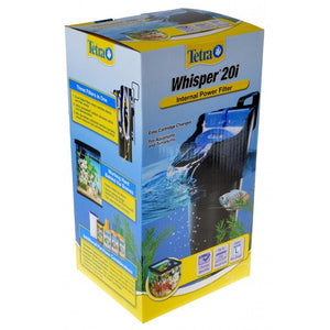 Tetra Whisper Internal Power Filter 20i (20 Gallons) - All Pets Store