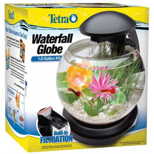 Tetra Waterfall Globe Aquarium 1.8 Gallons - All Pets Store