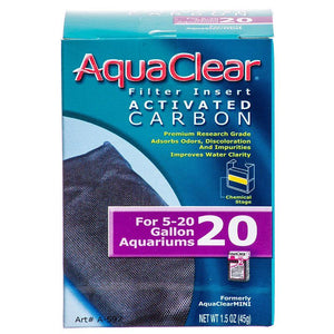 Aquaclear Activated Carbon Filter Inserts For Aquaclear 20 Power Filter - All Pets Store