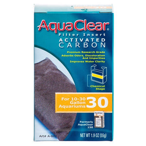 Aquaclear Activated Carbon Filter Inserts For Aquaclear 30 Power Filter - All Pets Store