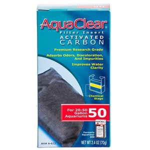 Aquaclear Activated Carbon Filter Inserts For Aquaclear 50 Power Filter - All Pets Store