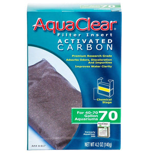 Aquaclear Activated Carbon Filter Inserts For Aquaclear 70 Power Filter - All Pets Store