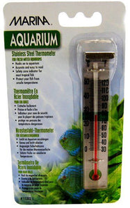 Marina Stainless Steel Thermometer Stainless Steel Thermometer - All Pets Store