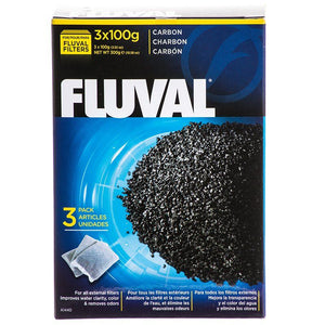 Fluval Carbon Bags 3 x 100 Gram Bags (3 Pack) - All Pets Store