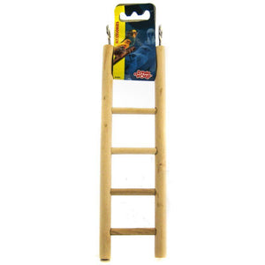 "Living World Wood Ladders for Bird Cages 8.75"" High - 5 Step Ladder - All Pets Store"