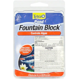 Tetra Pond Fountain Block Algae Control .3 oz (6 Pack) - All Pets Store