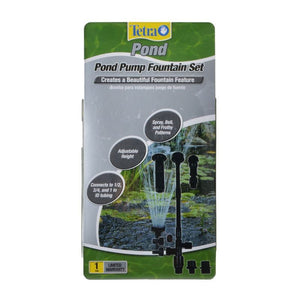 Tetra Pond Fountain Set for Water Garden Pumps Large (3 Fountain Heads) - All Pets Store