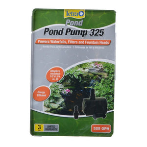 TetraPond Pond Pump 325 GPH (For Ponds 50-250 Gallons) - All Pets Store