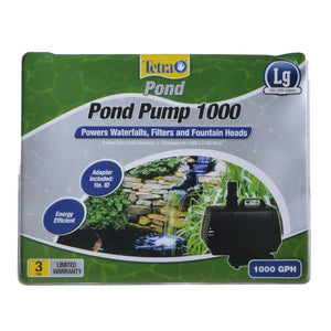 TetraPond Pond Pump 1,000 GPH (For Ponds 500-1,000 Gallons) - All Pets Store