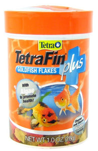 Tetra TetraFin Plus Goldfish Flakes Fish Food 1 oz - All Pets Store
