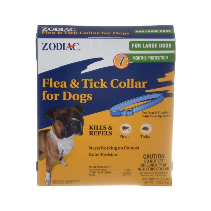 Zodiac Flea & Tick Collar for Large Dogs 1 Collar - (7 Month Protection)