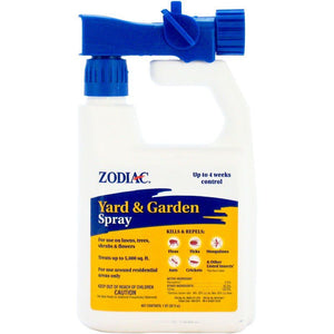 Zodiac Flea, Tick & More Yard & Garden Spray 32 oz - All Pets Store