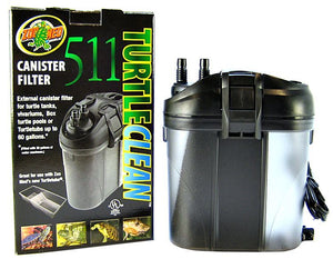 Zoo Med Turtle Clean Canister Filter 511 Model 511 (160 GPH) - All Pets Store