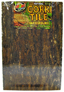"Zoo Med Natural Cork Tile Terrarium Background Medium (18"" Long x 12"" Wide) - All Pets Store"