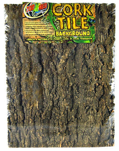 "Zoo Med Natural Cork Tile Terrarium Background X-Large (24"" Long x 18"" Wide) - All Pets Store"