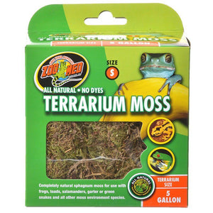 Zoo Med All Natural Terrarium Moss 5 Gallons - All Pets Store