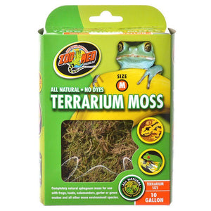 Zoo Med All Natural Terrarium Moss 10 Gallons - All Pets Store