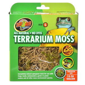 Zoo Med All Natural Terrarium Moss 15 - 20 Gallons - All Pets Store