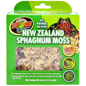 Zoo Med New Zeland Sphangnum Moss 80 Cubic Inches - All Pets Store