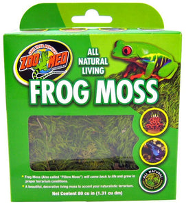 Zoo Med All Natural Living Frog Moss 80 Cubic Inches - All Pets Store